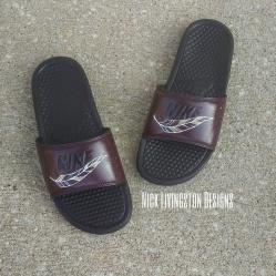 Custom Nike Benassi Slide